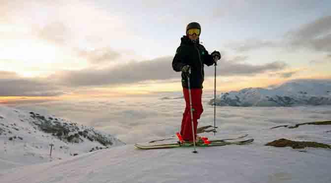 Movistar realiza sus Ski Day & Night en el cerro Catedral
