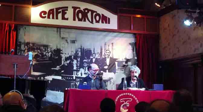 Café en el Tortoni con Ariel Scher y Ezequiel Fernández Moores
