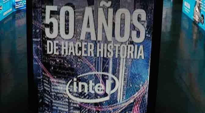 Con medio siglo de vida, Intel evoluciona de la PC a la nube informática