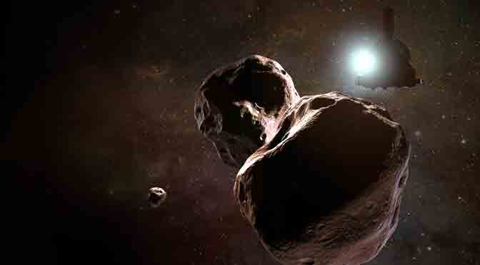 Última Thule, el próximo objetivo de la sonda New Horizons