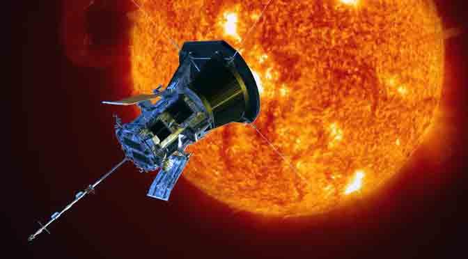 La sonda Parker rompe récord de cercanía al Sol