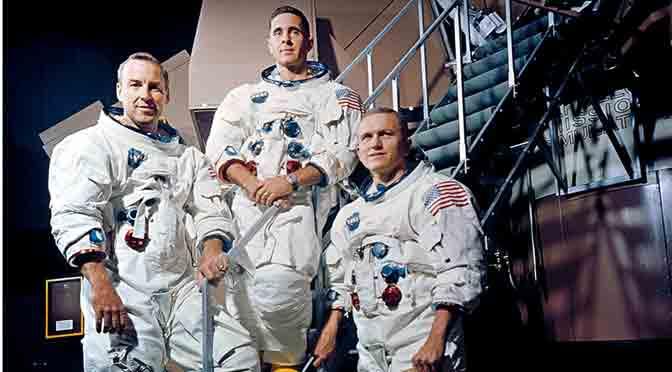 12 fotos para recordar la primera misión tripulada a la Luna