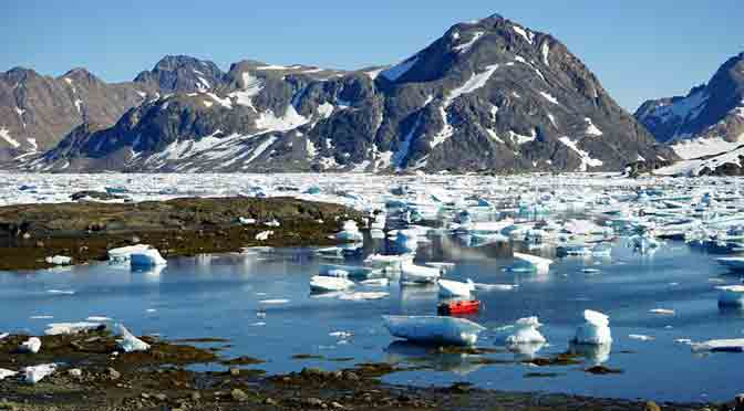 Deshielo en Groenlandia se acelera en un ritmo inusual y alarmante