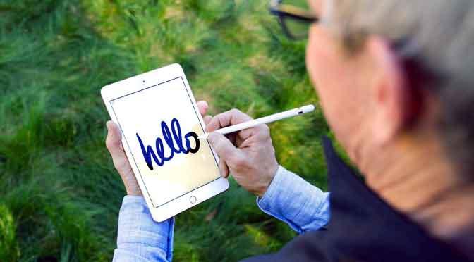 La nueva iPad Mini es compatible con pencil