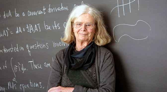 Una mujer gana por 1° vez el equivalente al Premio Nobel en las matemáticas
