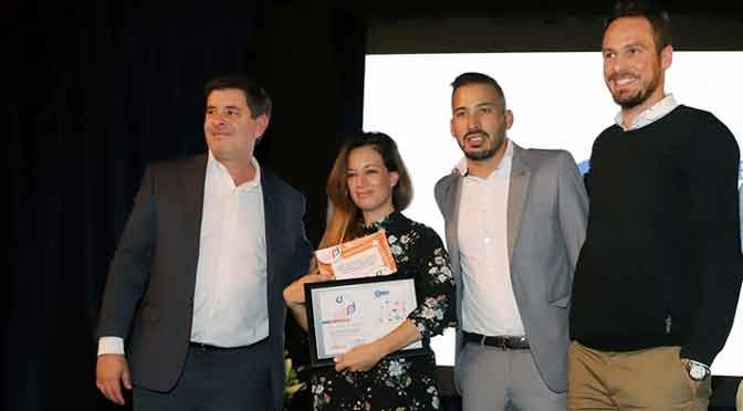 Jazmín Garbini gana el premio «reconocimiento social» de CAME Joven