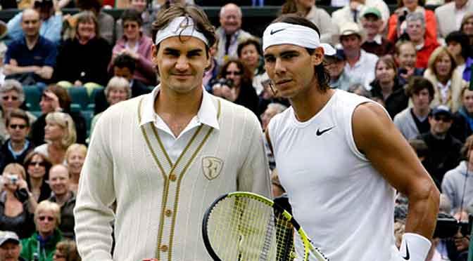 Federer vs. Nadal en Wimbledon, a 11 años del mejor partido de tenis de la historia
