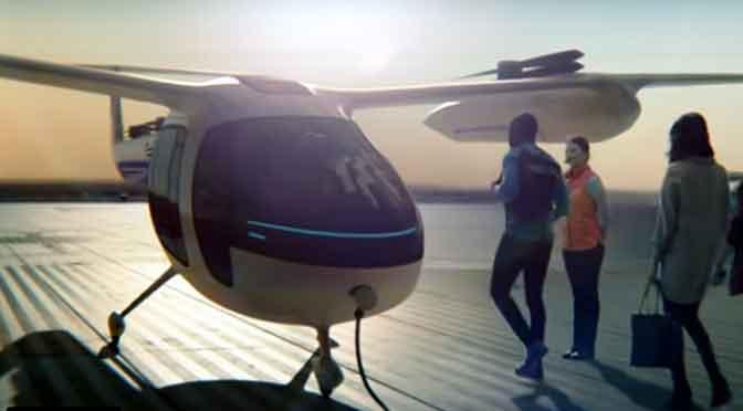 Uber inaugura su servicio de helicópteros