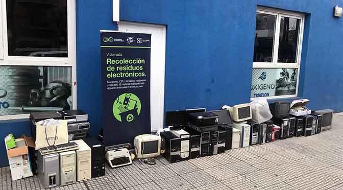 Jornada de recolección de residuos informáticos en Martínez