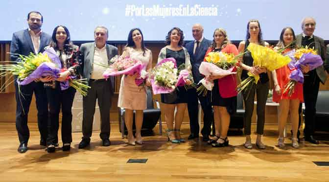 Entregan los Premios L'Oréal-Unesco «Por las mujeres en la ciencia»