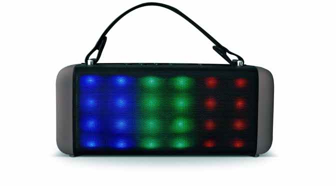 Parlante Boombox Bluetooth de RCA, para una primavera musical con estilo