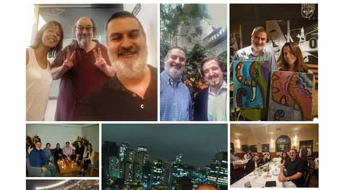 Mi año 2019 resumido en 30 fotografías con amigos y colegas