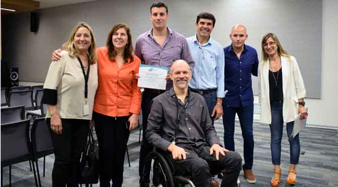 ALPI entrega certificado de accesibilidad a Prisma Medios de Pago