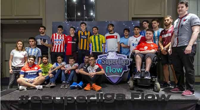 Se presentaron los jugadores oficiales de la eSuperliga Flow
