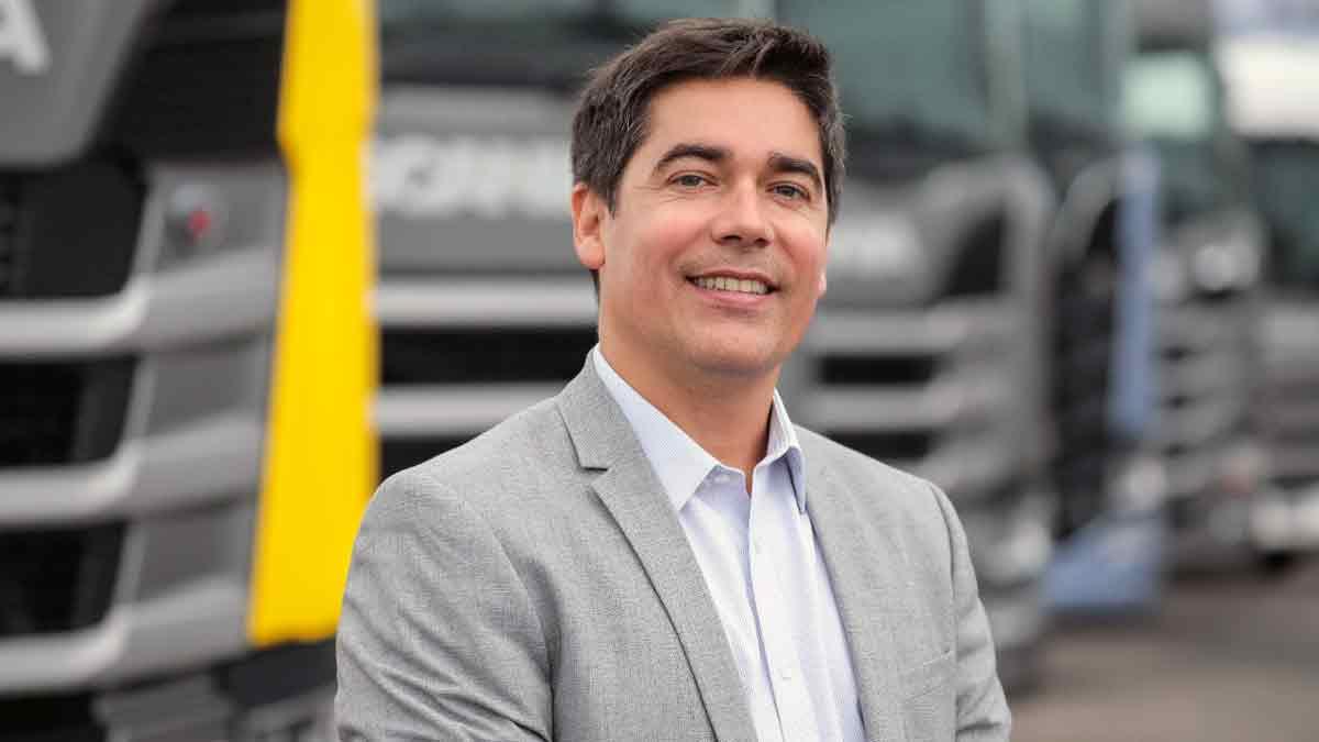 Alejandro Pazos, nuevo director de Marketing de Scania Argentina
