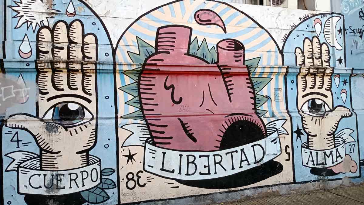 Murales en Palermo, Chacarita y Coghlan, Buenos Aires
