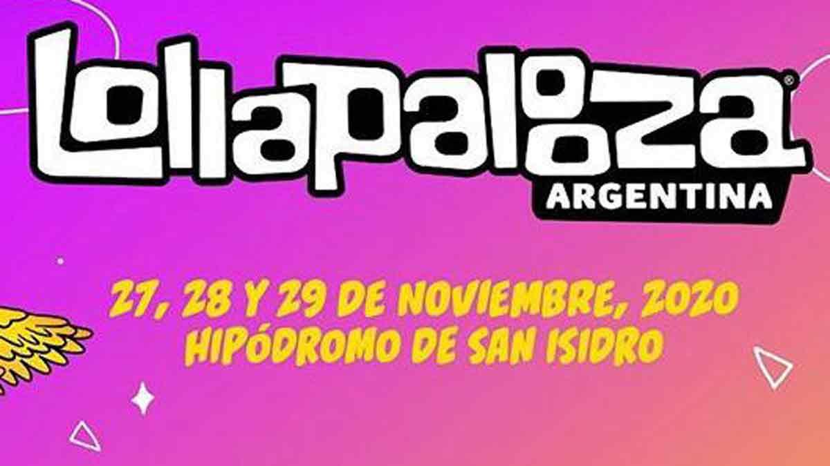 ¿Cuáles son las nuevas fechas de Lollapalooza Argentina 2020?