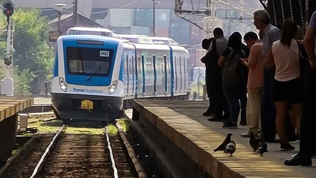 La estación Retiro de Buenos Aires, antes del ASPO por el coronavirus