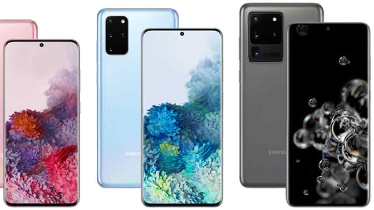 Los Samsung Galaxy S20 y Z Flip llegarán en abril a la Argentina