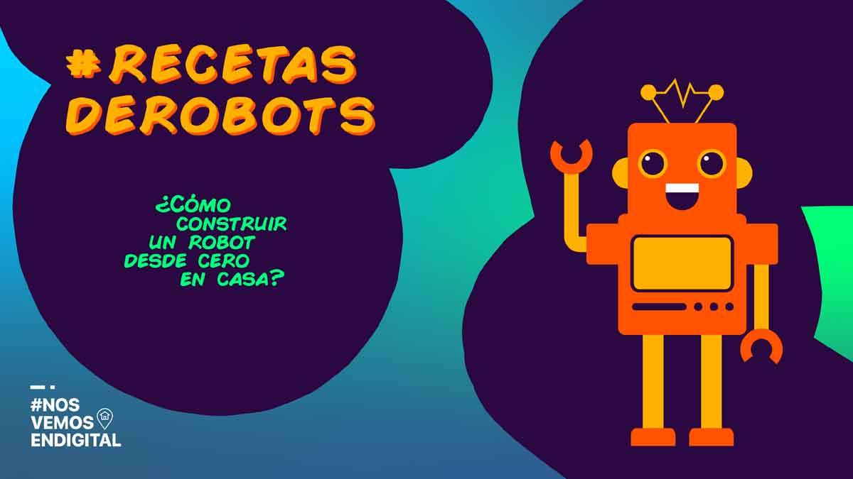 Fundación Telefónica lanza tutoriales para fabricar un robot en casa