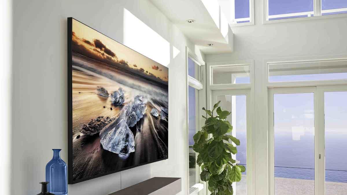 Samsung lanza el primer televisor 8K producido en la Argentina