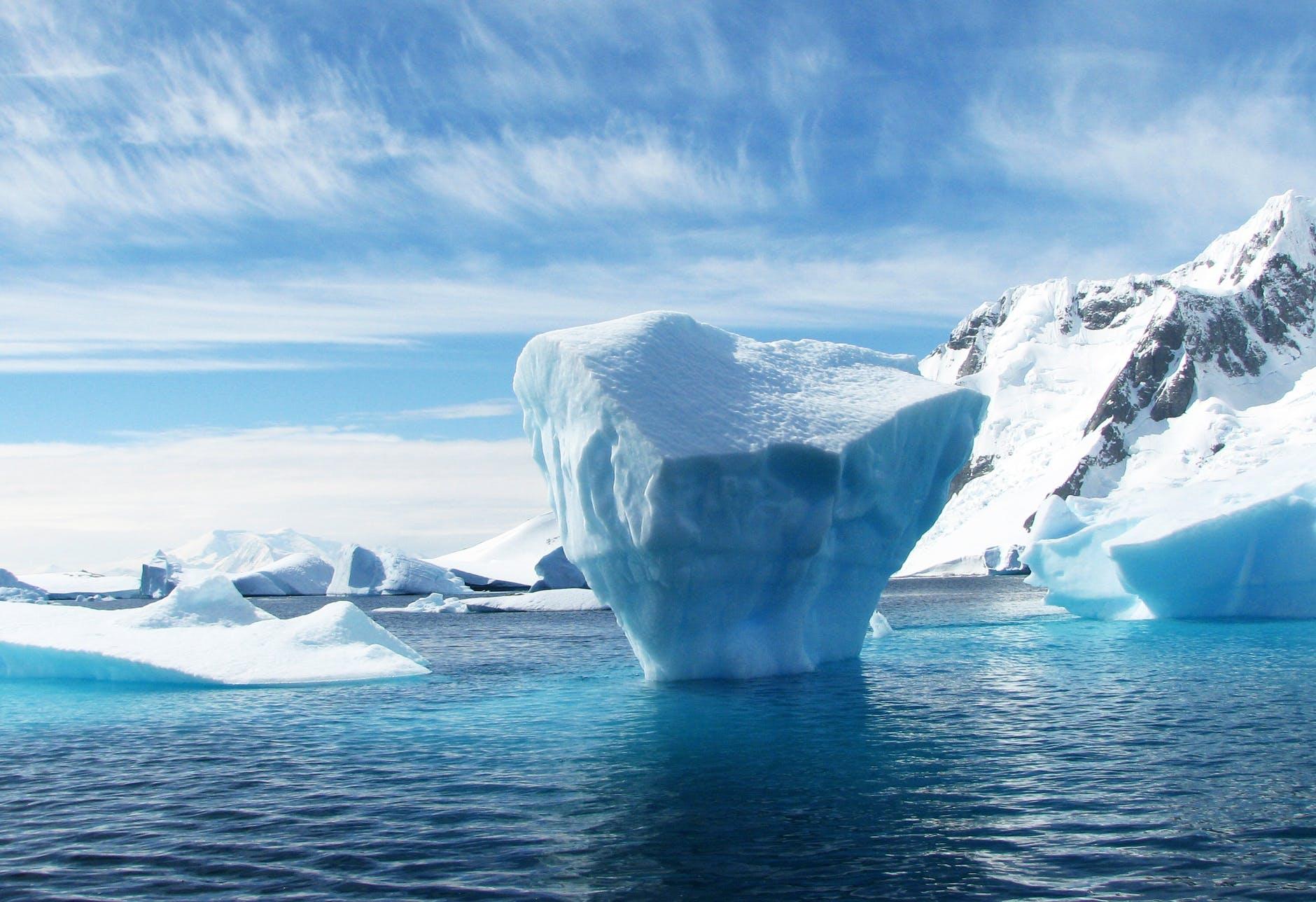 Calentamiento récord en la Antártida