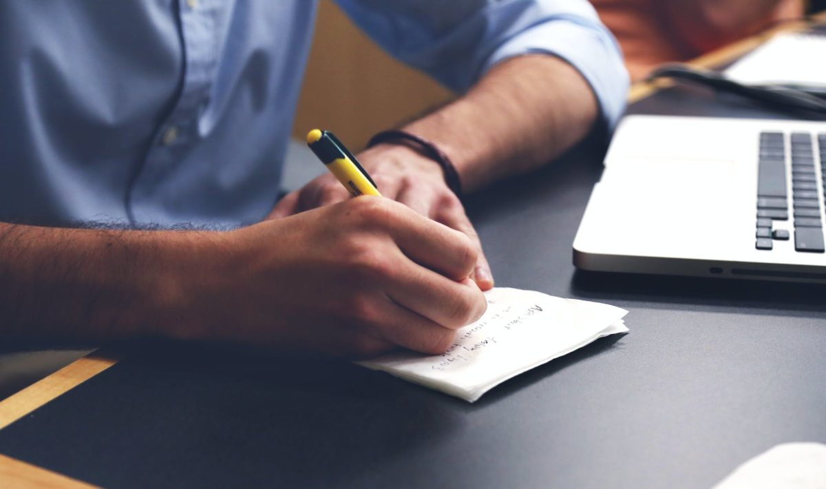 writing notes idea class