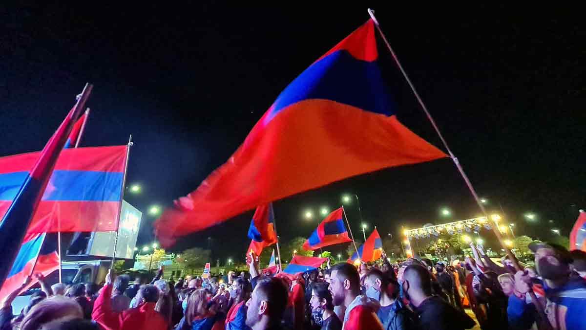 Acto Armenia Buenos Aires 31 otubre 2020