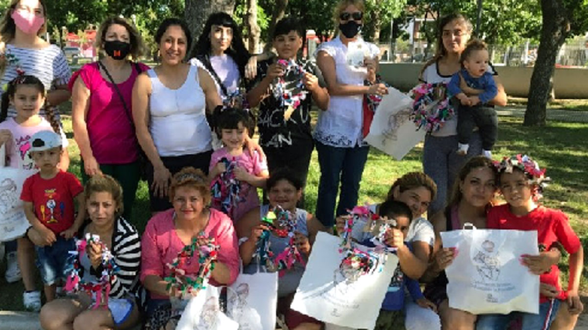 Campaña solidaria de la Fundación San Andrés asistió a 268 familias