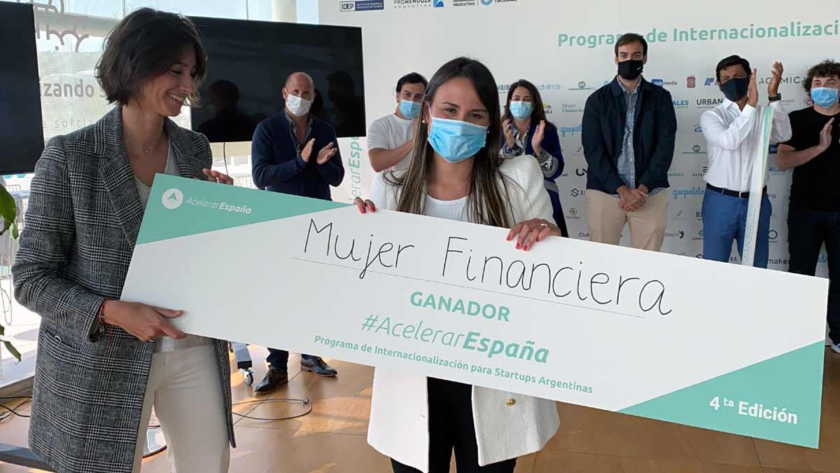 Mujer Financiera ganó el premio Acelerar España
