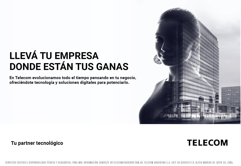Telecom presenta su nueva campaña de comunicación integral para el mercado corporativo