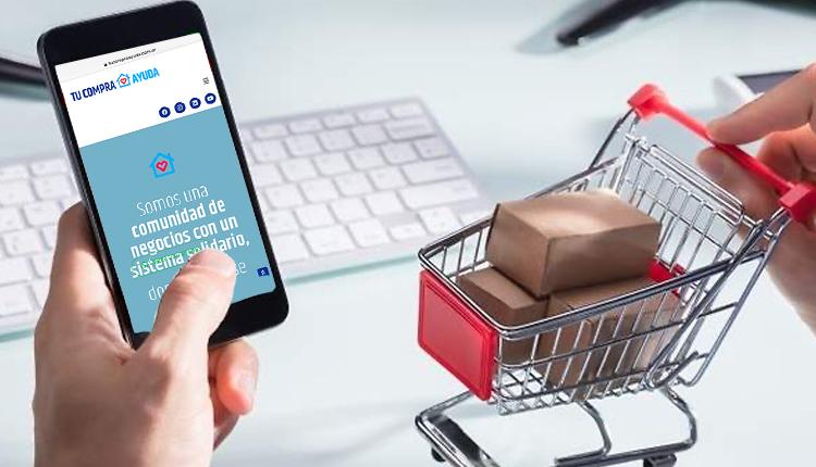 Tu Compra Ayuda: plataforma en línea de compraventa solidaria