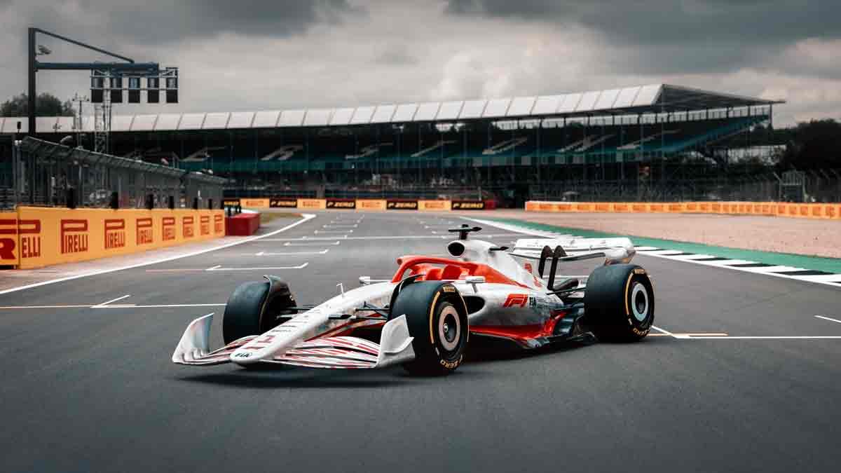 Así es el nuevo automóvil de la Fórmula 1 desarrollado en Amazon Web Services