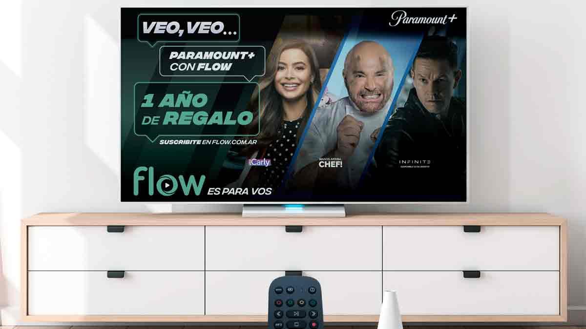 Paramount+ en Flow