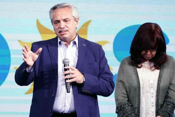 PASO 2021 Alberto Fernández Cristina Kirchner