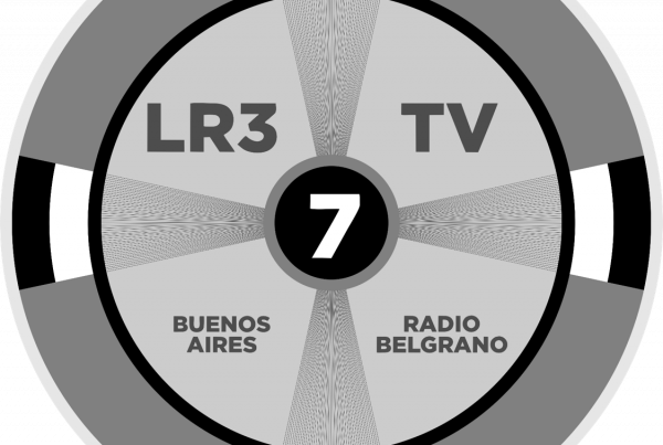Televisión argentina logo de LR3 Radio Belgrano Televisión